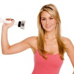 Get Sexy, Toned Arms & Shoulders in just minutes per day using the Shake Weight!!