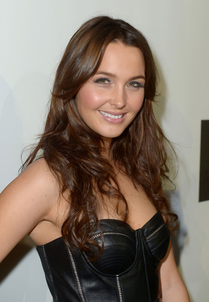 CAMILLA LUDDINGTON at Spike TV's Video Game Awards