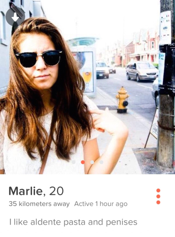 Women on Tinder? They are crazy;)