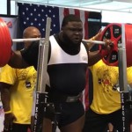 Monster Ray Williams squat 456kg (1005lbs)