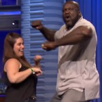 Jimmy Fallon doet Lip Sync Battle met reus Shaquille O'Neal