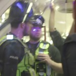 Illegale rave in de metro van London