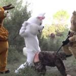 Rémi Gaillard's Hunting Prank