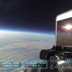 Wow: een iPhone 6 laten vallen van 30 kilometer hoogte!