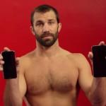 UFC-vechter Luke Rockhold vs de nieuwe iPhone 6 en 6s