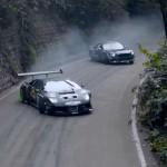 Vette driftsessie met een dikke Mustang RTR en Lamborghini Drift V-12