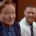 Conor McGregor neemt het op tegen Conan O'Brien met de game UFC2