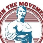 Arnold Schwarzenegger en een lilliputter zorgen vandaag voor de nodige motivatie