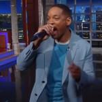 Will Smith zingt Summertime live bij Stephen Colbert