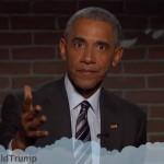 President Obama leest gemene tweets voor