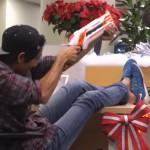 Zach King doet Christmas Magic