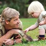 De zoon van Steve Irwin is net zo aanstekelijk enthousiast als zijn vader