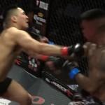 Keiharde dubbele knockout in MMA gevecht bij Shamrock FC