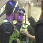 Illegale rave in de metro van London
