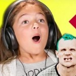 Kinderen reageren op de Red Hot Chili Peppers