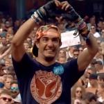 Man in rolstoel beleeft magisch moment op Tomorrowland dankzij Dj Wildstylez