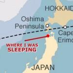 Ondertussen in Japan; zorgwekkende luchtalarmen vanwege Noord-Korea