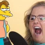 Nancy Cartwright doet 7 Simpsons karakters in 40 seconden