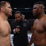 De hoogtepunten van de titanenstrijd tussen Stipe Miocic en Francis Ngannou (UFC220)