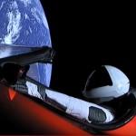 Tesla's Starman x Daft Punk's 'Around the World'